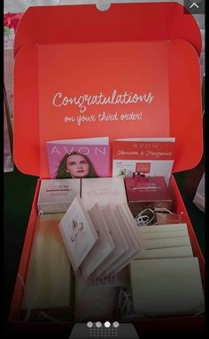 Avon, Congratulations