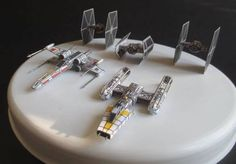 Here are several mini Death Star Assault Spaceship Paper Models, from the Star Wars series, the papercrafts are created by Rawen, and the scale is in 1:250.
