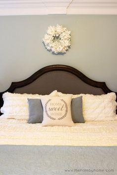 Rustic Glam Master Bedroom Decor