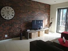 Or....a brick wall is a nice feature too!