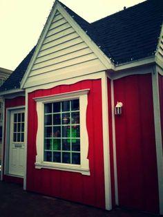 Santa's House Central Park. Decatur Illinois