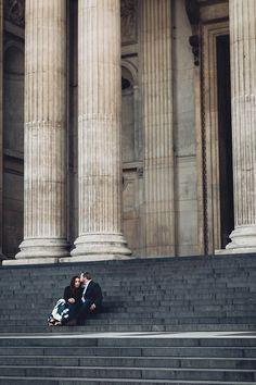 London Sunrise Wedding Engagement Shoot St Paul's | Photography by Miss Gen