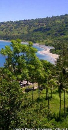 A glimpse of the Lombok coastline.   Bali, Indonesia. http://www.beyondvillas.com