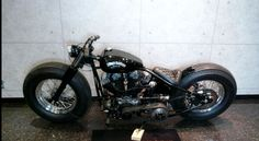 Harley Bobber Motorcycles | Black Harley-Davidson Bobber Motorcycle