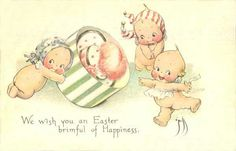 Easter Kewpies...how flippin adorable :))