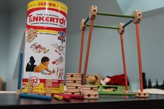 How can you be a #kid without this set of #Tinkertoys? Also got it at Costco. #toy