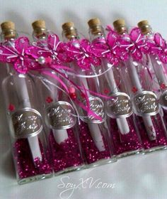 Nice idea for invitations for a Quinceañera or Sweet 16
