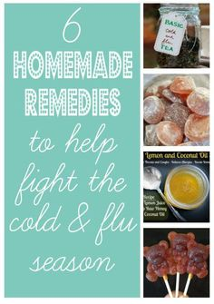 diy home sweet home: Beat the Cold & Flu Season with Home Remedies