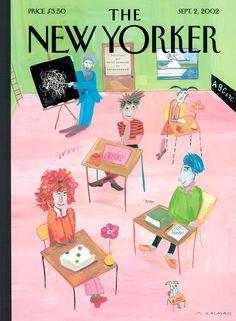 Maira Kalman New Yorker covers