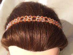 Crystal Beaded Headband Adjustable