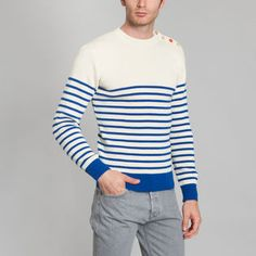 Pull Sailor Stripes WAIT