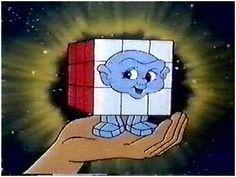 """Serie TV """"#Rubik, the amazing cube"""" del 1983, ispirata all'omonimo cubo."""