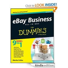 Amazon.com: eBay Business All-in-One For Dummies (For Dummies (Computer/Tech)) eBook: Marsha Collier: Kindle Store