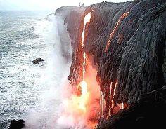magma meets ocean