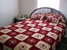 🌼 🌺 Crochetar Avó Quadrado Crochetar Afegão -  /  🌼 🌺 Crochet Granny Square Crochet Afghan -