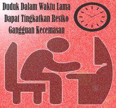 Hati-hati, Duduk Dalam Waktu Lama Dapat Tingkatkan Resiko Gangguan Kecemasan
