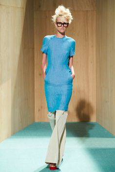 Acne Studios Resort 2012 Fashion Show