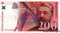 200 Francs (1999) Gustave Eiffet