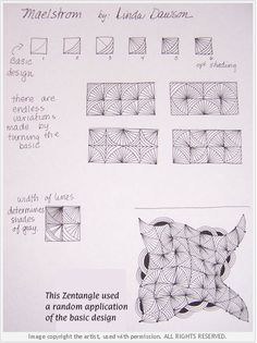 How to draw MAELSTROM « TanglePatterns.com