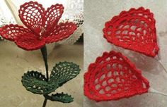 #Crochet #Flower with charts. Astoundingly beautiful!