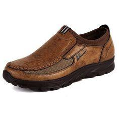 Men Large Size Non-slip Casual Shoes