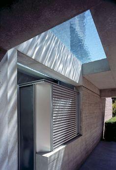 Casa Shaw Diseño en Vancouver por Patkau Arquitectos, con piscina en el techo