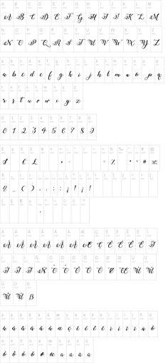 Winter Calligraphy Font | dafont.com