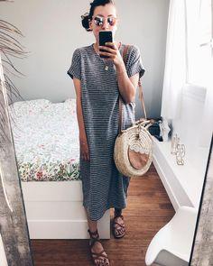 ce soir ✌🏻 (robe Livia #victoirexvictoire sac #paillettetherapie sandales #kjacques