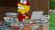 The Lisa Simpson Book Club Memes Simpsons, The Simpsons, Lisa Simpson, Music Writing, Better Music, Cartoon Profile Pictures, Cartoon Icons, Futurama, Mood Pics