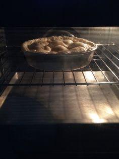 Baking tarte tatin...