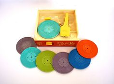 Had this one!  Vintage 1970's Fisher Price Record Player and MUSIC by aniandrose, $19.00