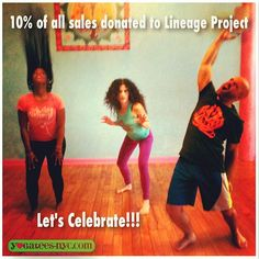 YogaTeesNYC is a proud sponsor of the Laughing Lotus Shakti Summit and is donating 10% of all sales to The Lineage Project. Please go to http://www.yogatees-nyc.com for more details Let's bring more yoga & meditation to youth at risk! Together we can make a difference!  #Seva #LotusShaktiSummit #YouMakeADifference #Share #Regram #InstaGood #Celebrate #YogaTeesNYC #LineageProject #LaughingLotus