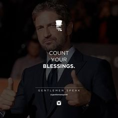 Blessings #gentlemenspeak
