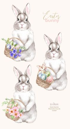 aquarell osterkarten aquarell osterkarten - The world's most private search engine Bunny Painting, Bunny Drawing, Bunny Art, Easter Art, Easter Crafts, Easter Eggs, Bunny Images, Easter Bunny Pictures, Easter Paintings
