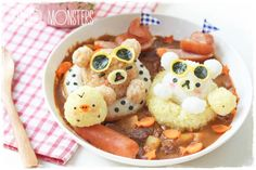 Bento Monsters, creative meals a Japanese mom - Welovebuzz