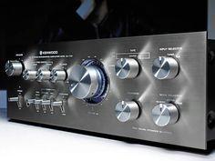 Kenwood KA-7100  DC Stereo Integrated Amplifier (1977-79)