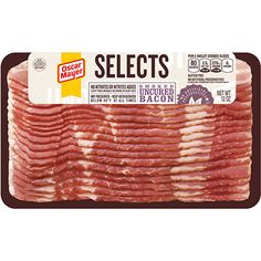 Selects Smoked Uncured Bacon
