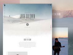 Bethel Musics latest album release. The War is Over by Josh Baldwin.  The album photography and videos were shot from the beginning of the day until the end of the day. The concept of the website i...