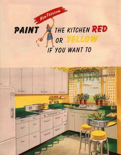 Red or Green Kitchens