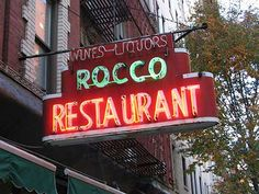 ROCCO (CARBONE), Greenwich Village | | Forgotten New YorkForgotten ...