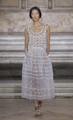 4576433d7c0b Temperley London Summer  16 Alika Vest Worn with Lizette Organdy Skirt City  Outfits