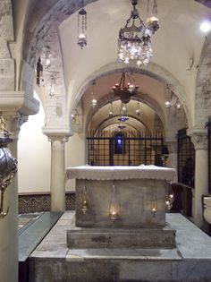 Basilica di San Nicola, cripta, Bari, Italy
