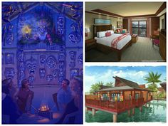 New details to share for Disney's Polynesian Villas & Bungalows! The resort will include the largest Deluxe Studios at Walt Disney World Resort and the new Disney Vacation Club bungalows are the first of their kind on any Disney property.