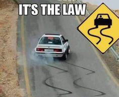 You Can't Really Argue With The Law