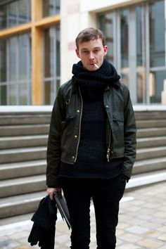 On the Street…..Barbour Chic, Paris « The Sartorialist