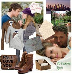 """P.S. I LOVE YOU"" by marijamari ❤ liked on Polyvore"