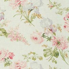 THERESE FLORAL - RALPH LAUREN WHITE - Floral/Foliage - Shop By Pattern - Fabric - Calico Corners