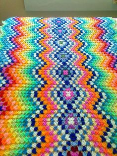 Love this blanket, maybe my next baby project...
