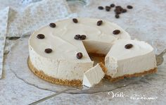 CHEESECAKE AL CAFFE Cake & Co, Feta, Buffet, Food And Drink, Cooking, Desserts, Sweetest Thing, Cakes, Random