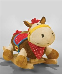Musical Colt Horse Toy Rocker by Baby Gifts N Treasures.com